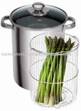 Stainless Steel Asparagus Pot