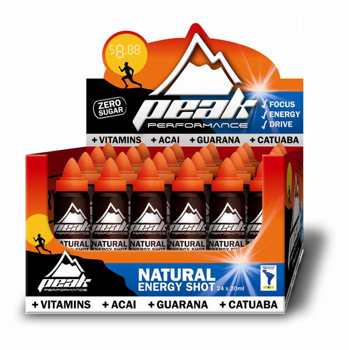 Peak Performance Natural Energy Shot