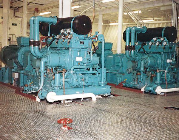 Hamworthy 425E Seismic High Pressure Air Compressor