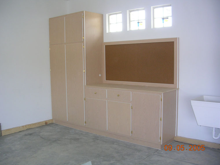 Garage storage cabinets kitchen cabinets laundry room for Kitchen units in zambia