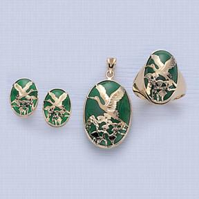 Green Quartz Jewelry