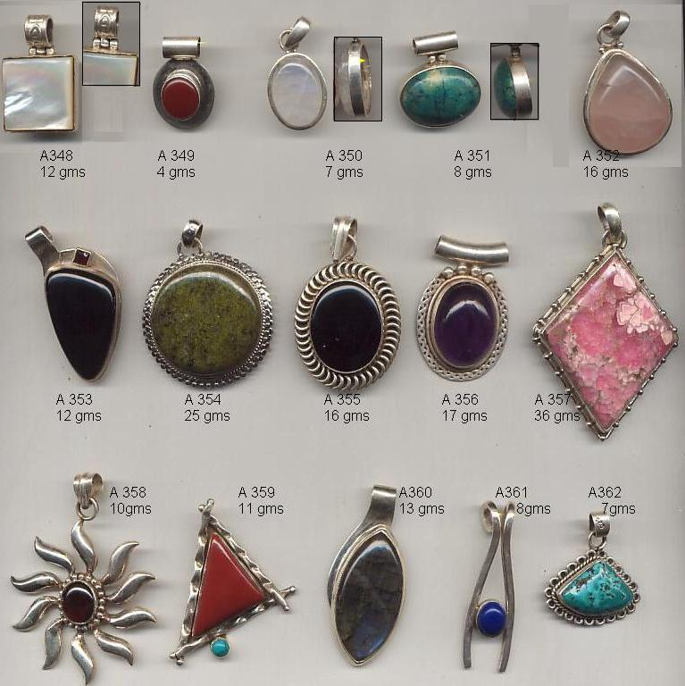 Sterling Silver Pendants