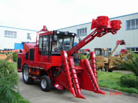 sugar cane combined harvester
