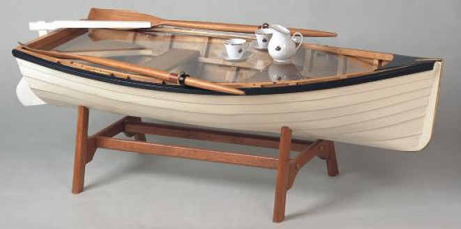 Cradle Boat - Fyne Boat Kits |Dinghy Coffee Table