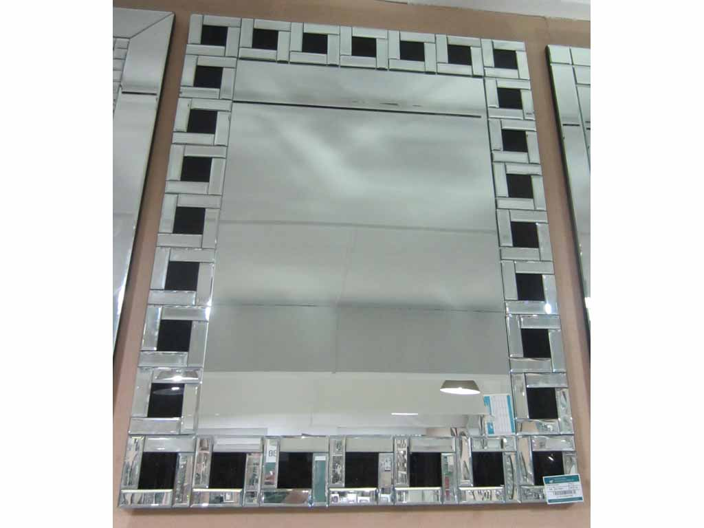 Decor mirror, article mirror