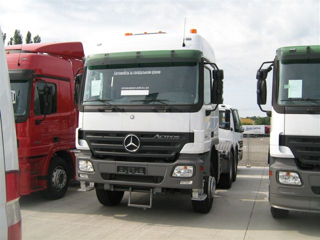 Mercedes Truck Tractros