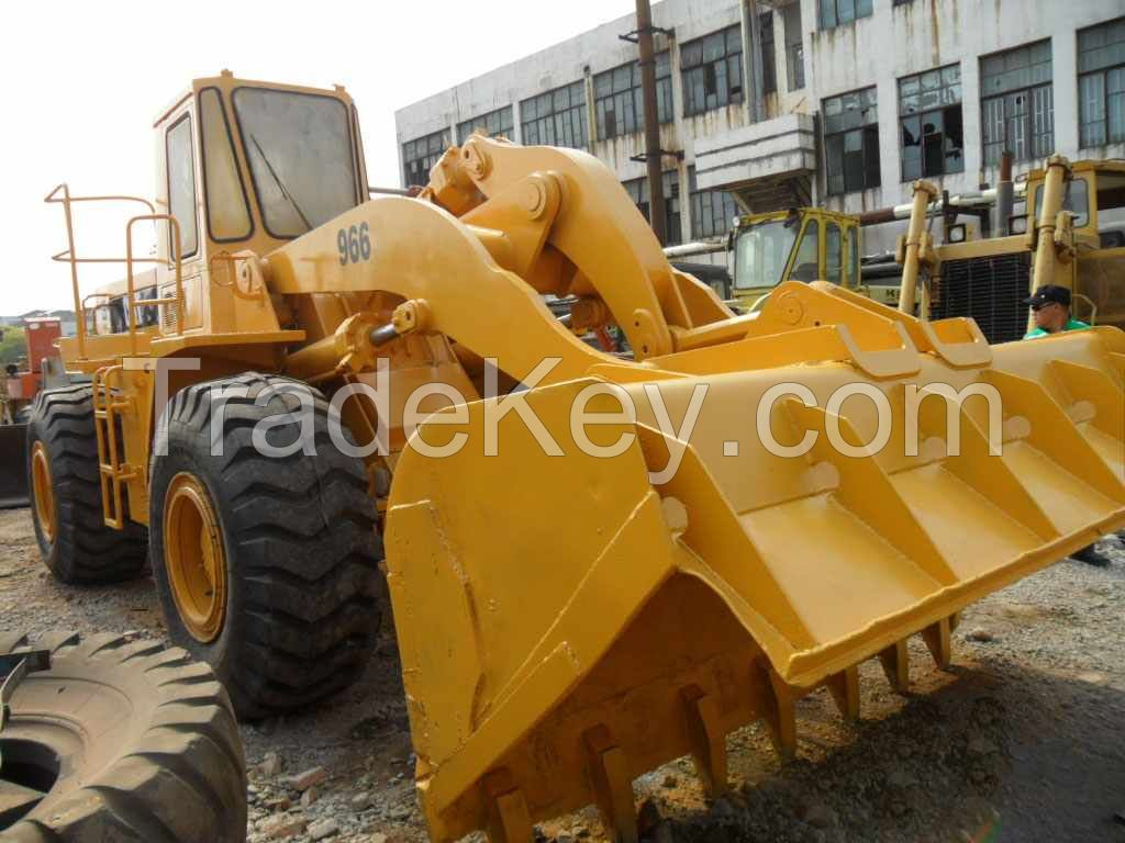used original Japan Caterpillar 966C wheel loader for sale