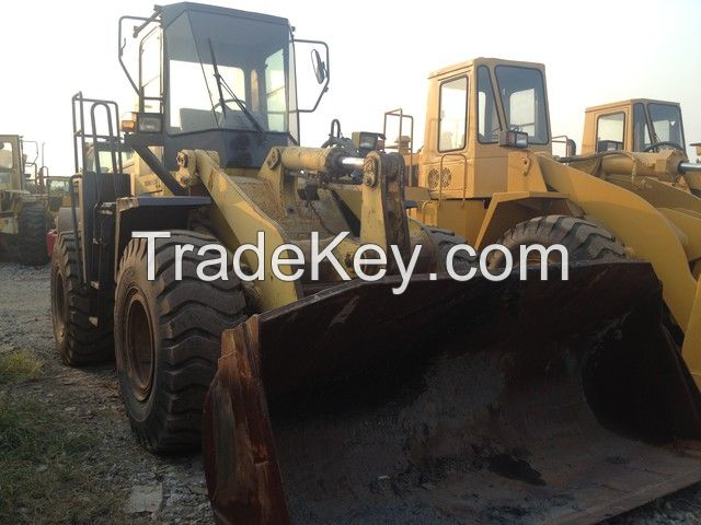 used original Japan Komatsu WA320 wheel loader for sale