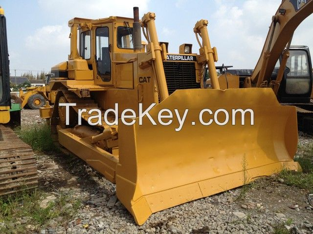 used original Japan Caterpillar D7H bulldozer for sale