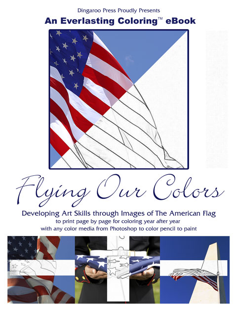 Flying Our Colors (Developing Art Skills thru the U.S. Flag)