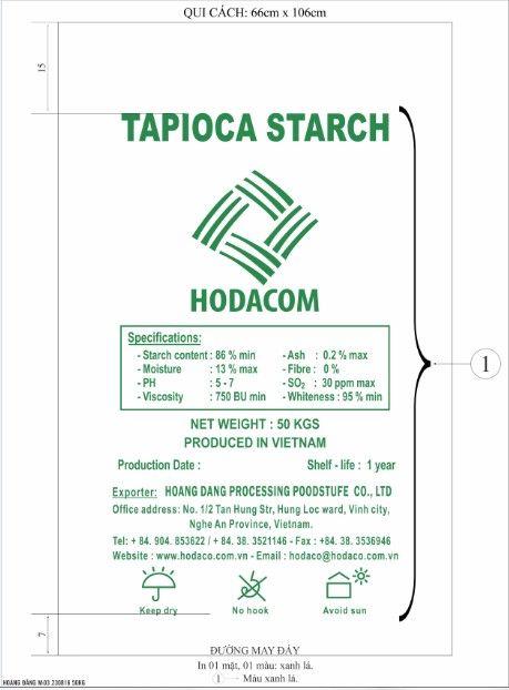 Natural Vietnam Tapioca Starch