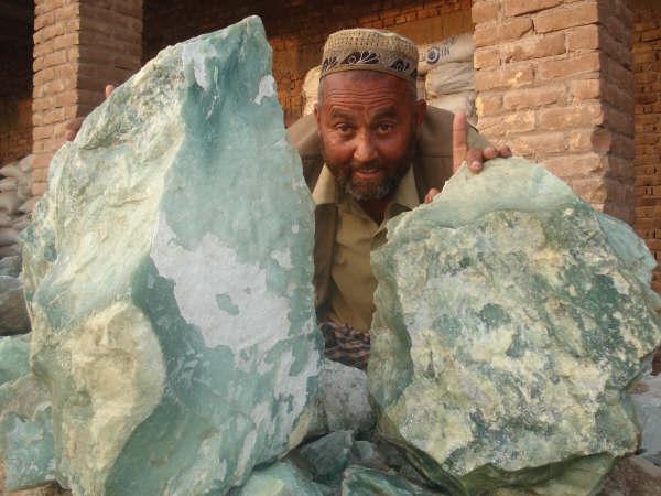Rough Jade Boulders