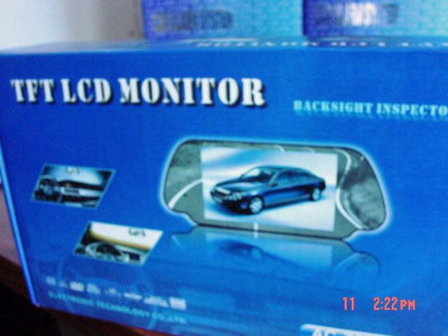 TFT Lcd Monitor/ dvd Player