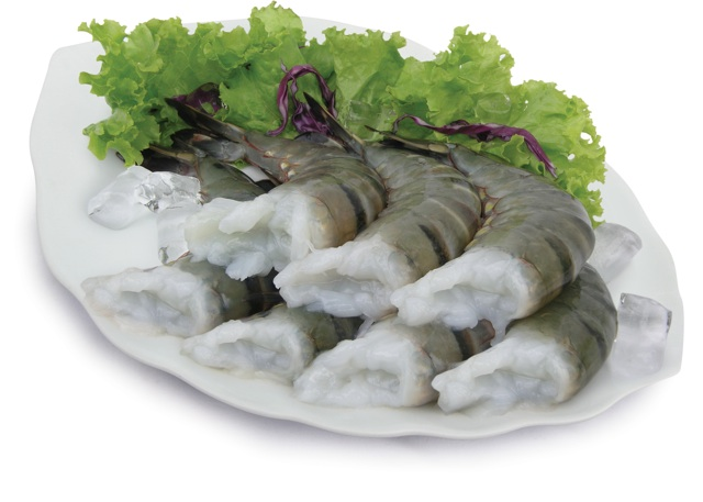 Black Tiger Raw Shrimps