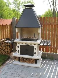 Garden Grill BBQ + Fireplace + Cooker By I.P.Projekts, Latvia