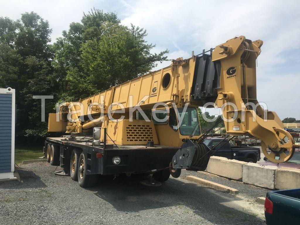 1989 Grove TMS760 - 60 Ton Truck Crane