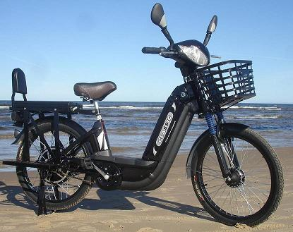 Electric bike for Europe