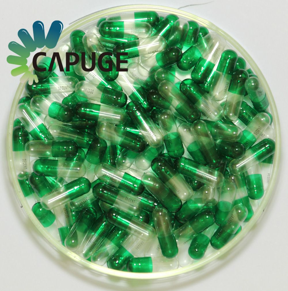 Hard Gelatin Capsules 99.7% Filling Rate /size 0, 1, 2, 3, 4# in various Colors Halal capsules in China By Zhejiang Huili Capsul