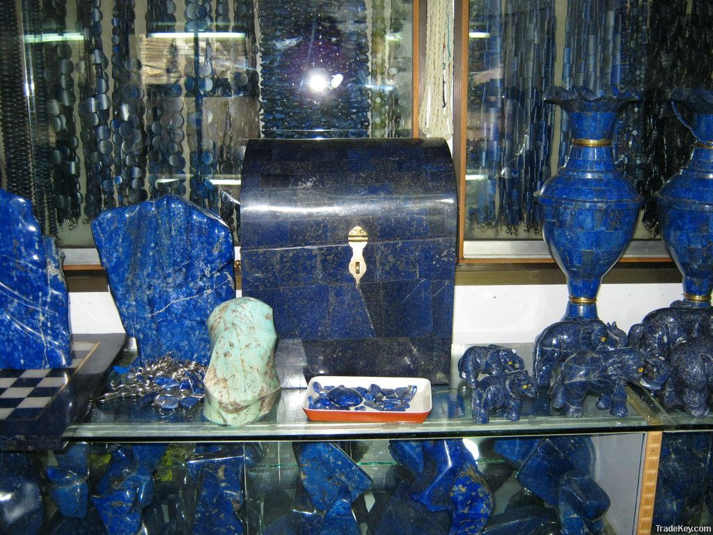 Buy Pakistani Decoration Items Lapis Lazuli Online From Stone Impact Private Limited At