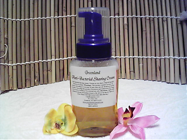 Anti-Bacterial Shaving Cream