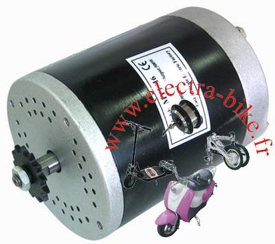 MOTEUR ELECTRIQUE 24V 500W