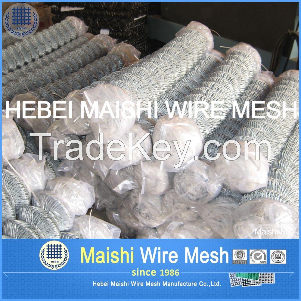 Galvanized rhombic wire mesh