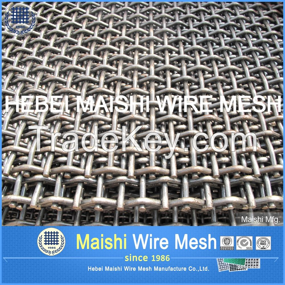 Crimpd wire mesh