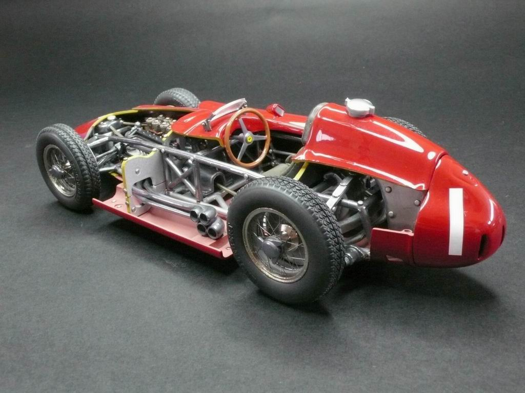 Car model kits metal 11