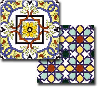 azulejo sevillano - spanish tile