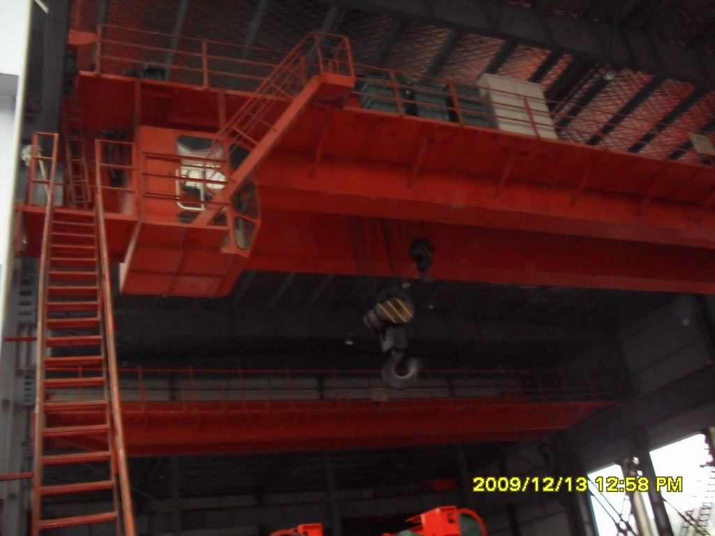Overhead Crane Girder Deflection : Electric double beam bridge crane cranes tradekey