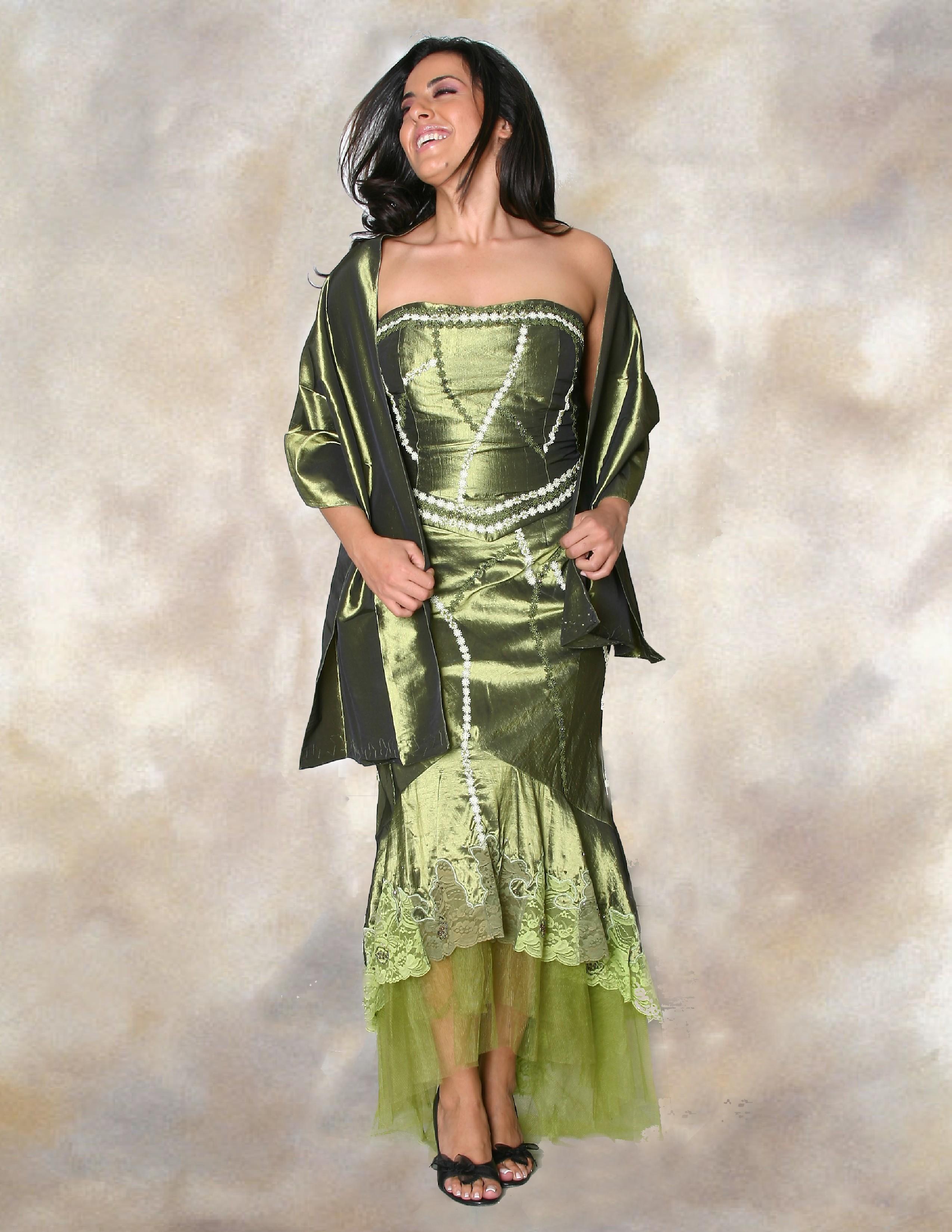 Evening Dress: 308