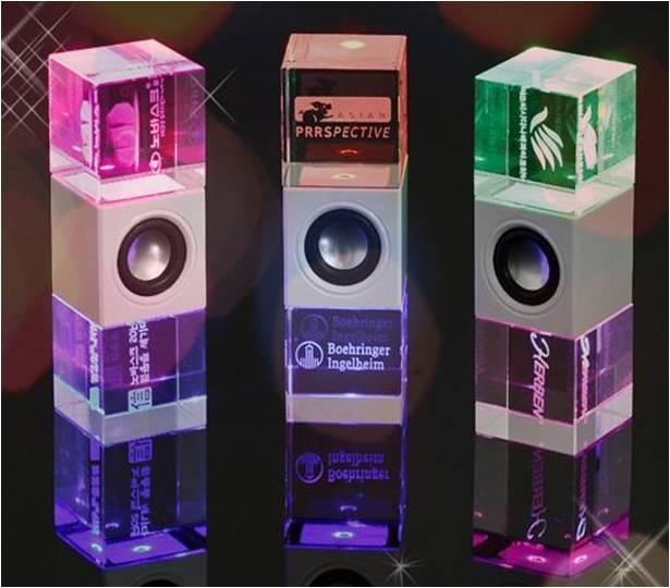 Crystal speaker