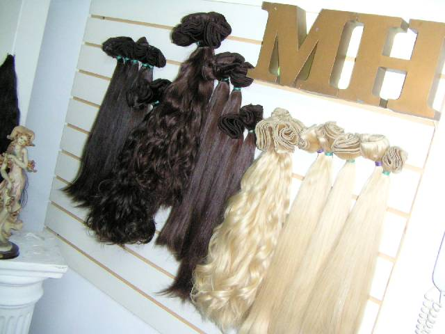 Human Hair Extension Wefts System