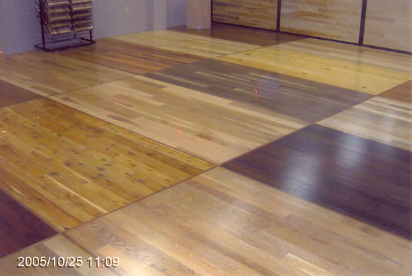 Hickory Unfinished Flooring