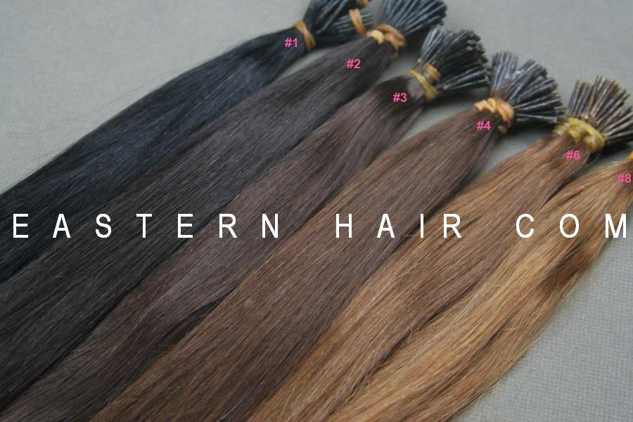Pre-Tipped Hair Extensions