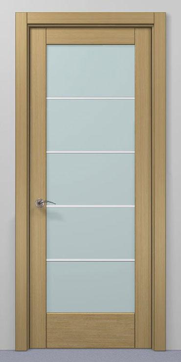 Internal wooden veneered doors