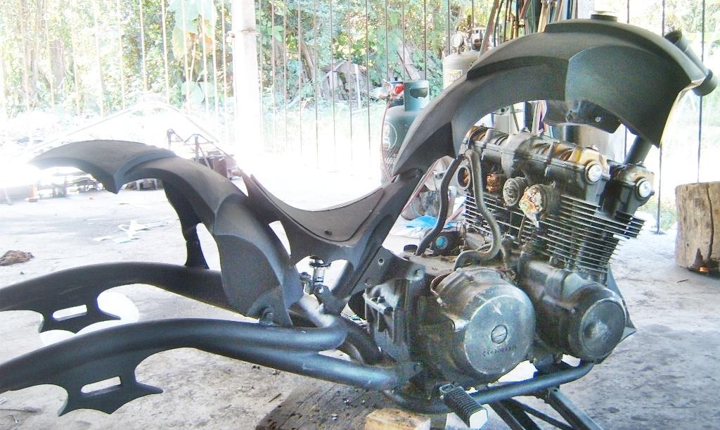 Бензобак своими руками на мотоцикл