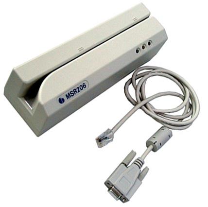 MSR206 Swipe Magnetic Card Hi-Co Reader/Writer