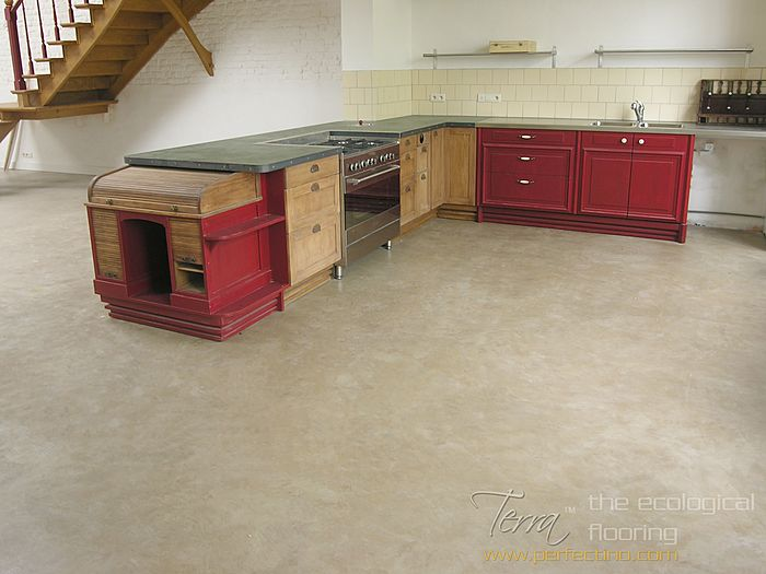 Ecological Clay Flooring System