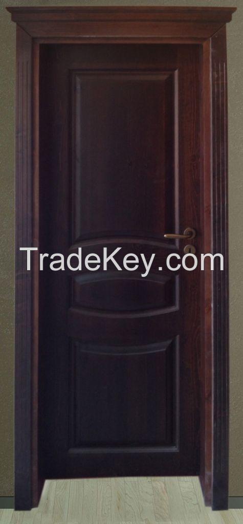 Solid wood interior door IVM001