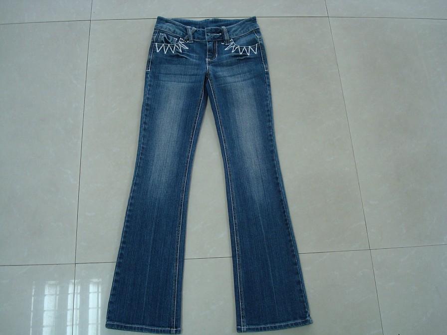100 cotton women jeans by junqing textile co ltd china. Black Bedroom Furniture Sets. Home Design Ideas
