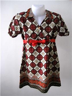 Batik Girl Dress