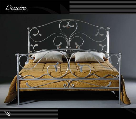 Wrought Iron Bed Demetra