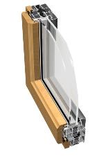 Aluminum-Wood Window - NT Wood System