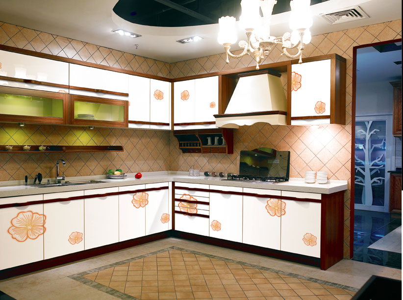 Kitchen cabinet made of uv color board products offered by for Kitchen cabinets zambia