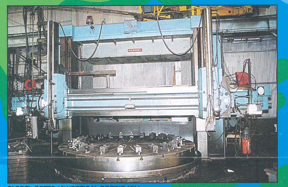 "144"" FARREL HEAVY DUTY VERTICAL BORING MILL"