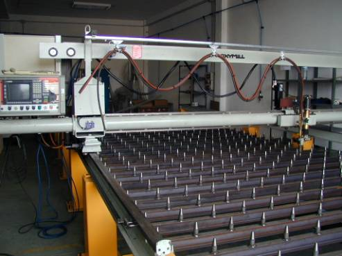Oxy cutting machine