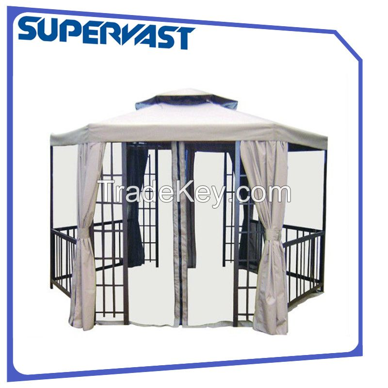 Outdoor Hexagonal Gazebo