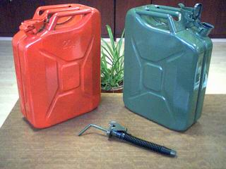 20 Litre Metal Jerry Cans