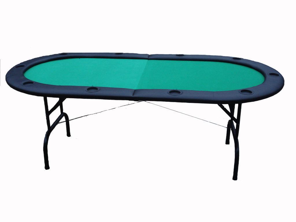 Folding texas hold'em poker table top